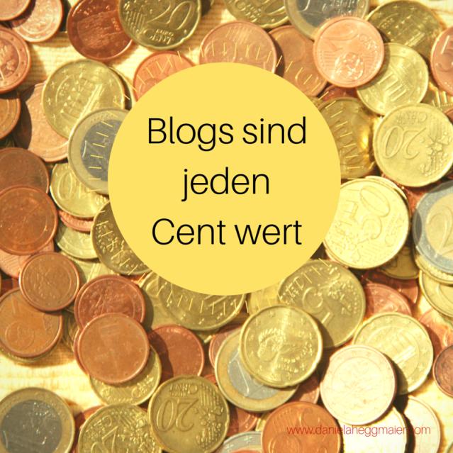 Blogs sind jeden Cent wert
