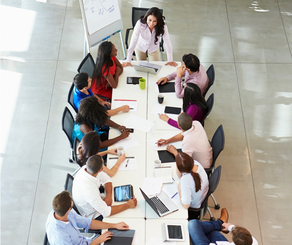 Redaktionssitzung Corporate Blog