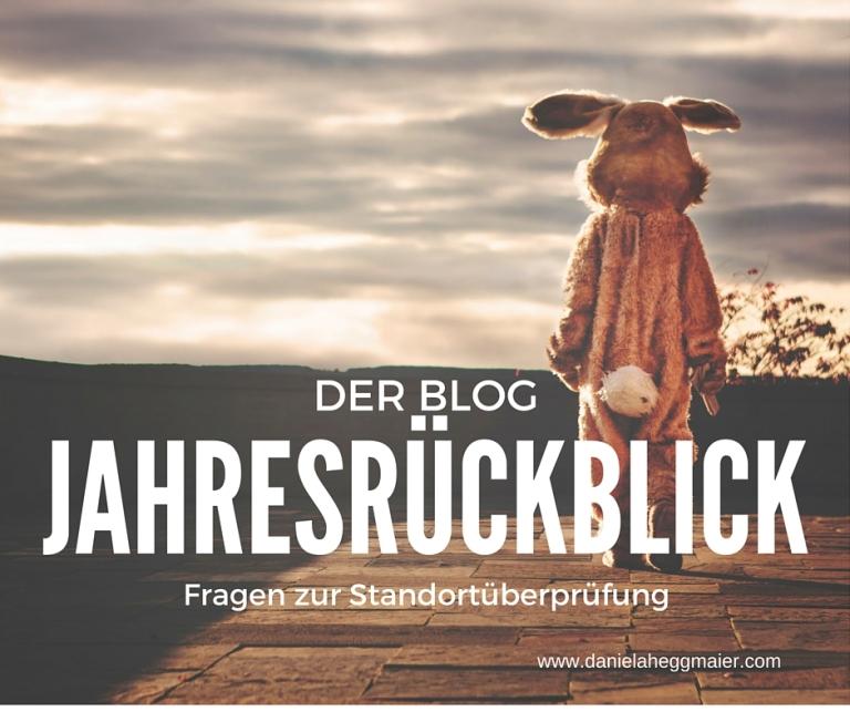 Blog Jahresrueckblick