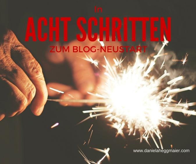 Blog Neustart