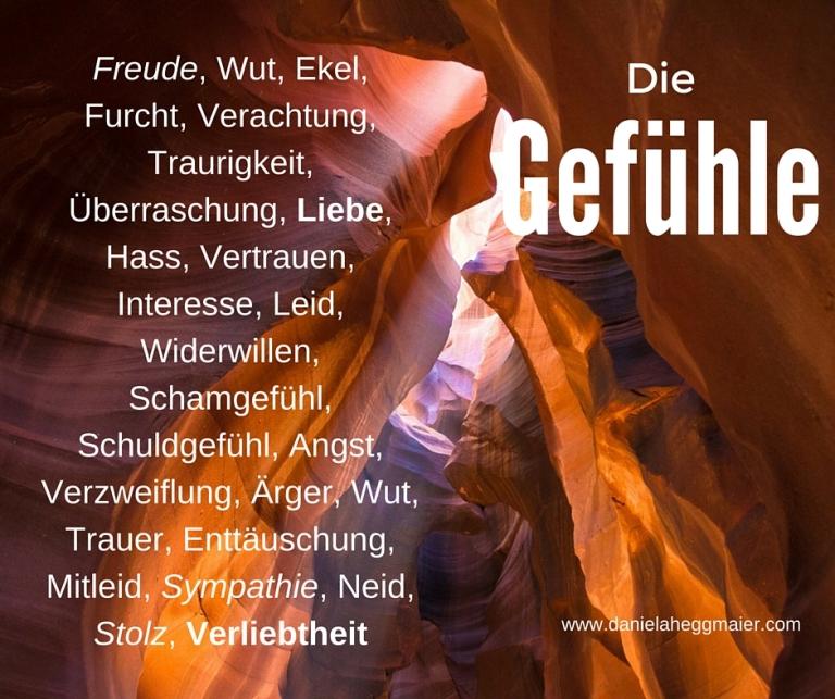Gefuehle