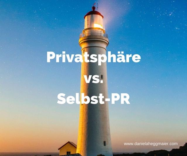 Privatsphäre vs. Selbst-PR