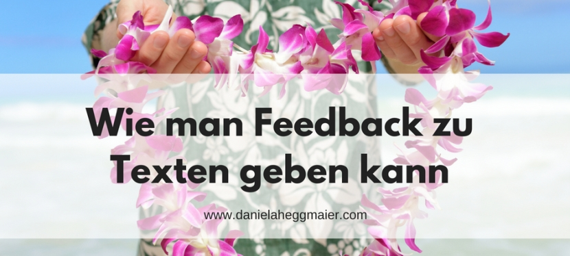 #10minBlog – Wie man Feedback zu Texten gebenkann