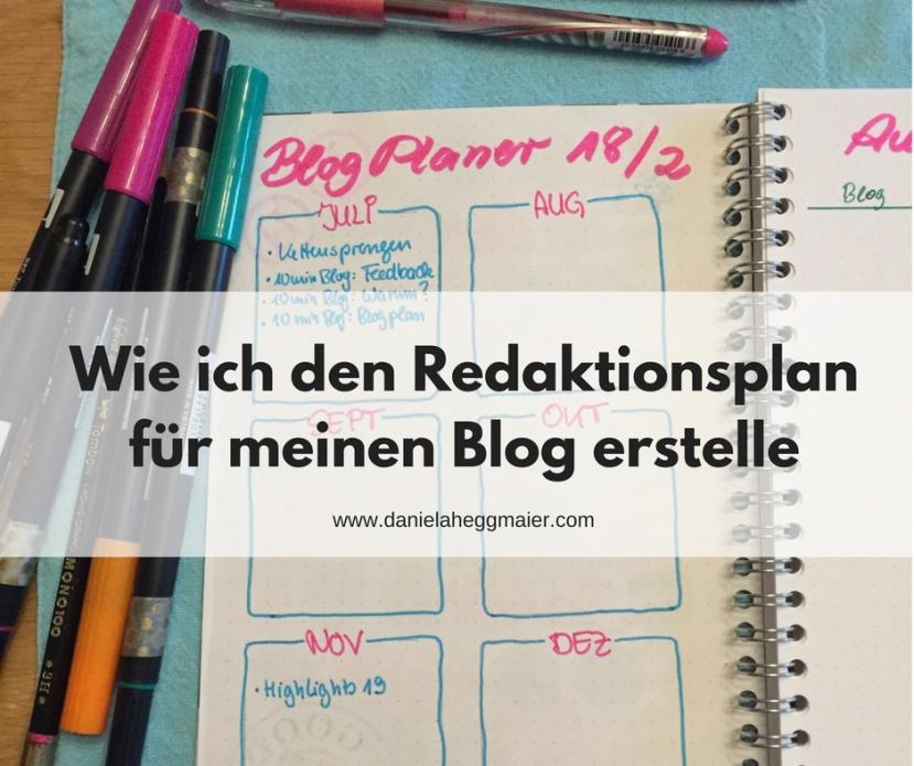 #10minBlog – Wie ich den Redaktionsplan für meinen Blogerstelle