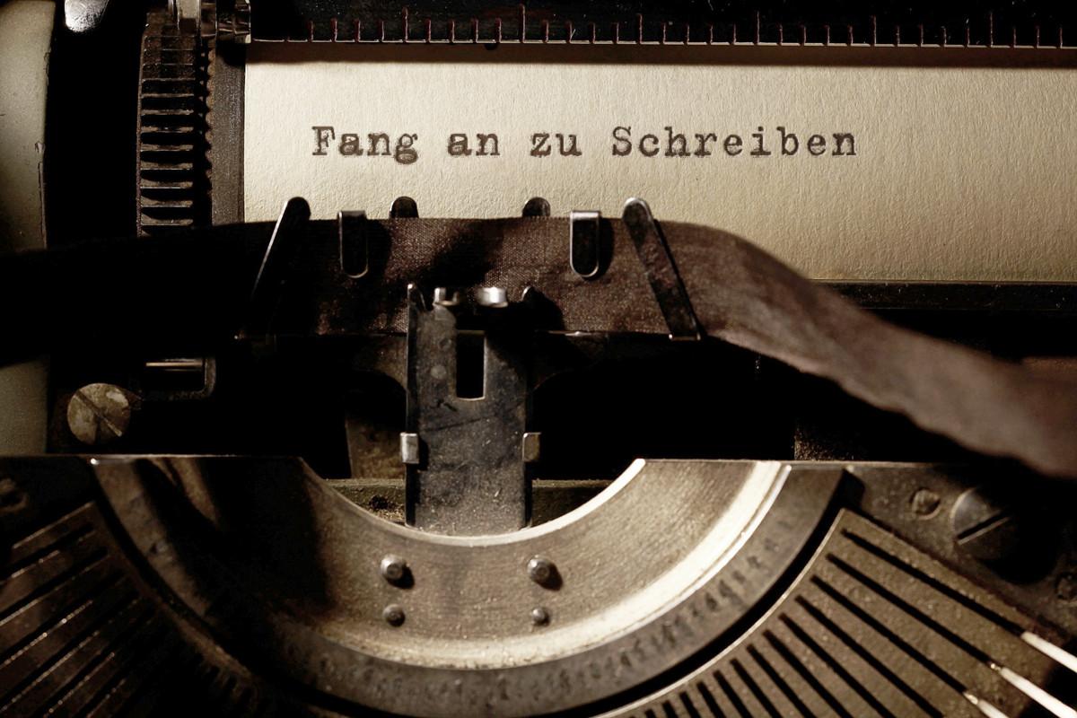 Anfangen zu schreiben