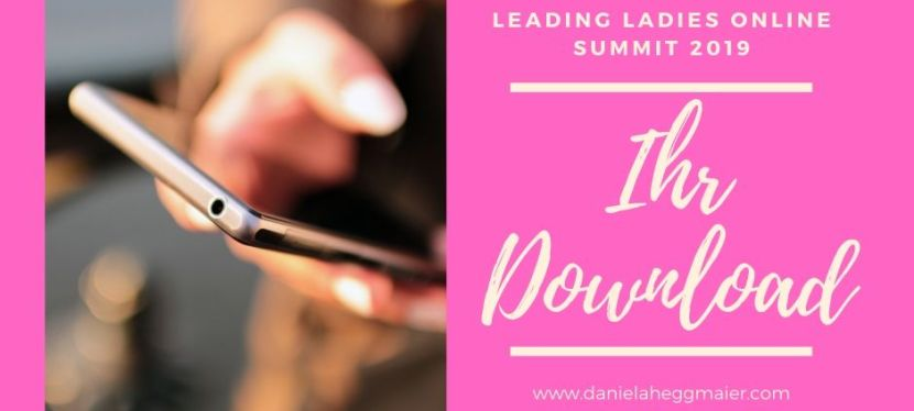 Ihr Leading Ladies Online Summit Download