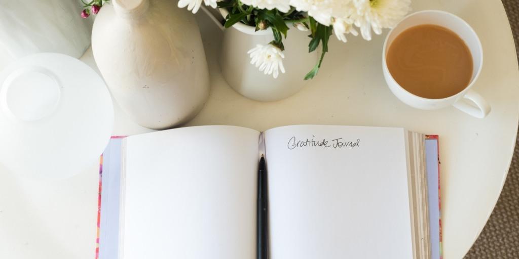 Dankbarkeitstagebuch schreiben